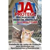 onde achar proteção de tela para gatos Ibirapuera